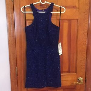 Party dress with open back